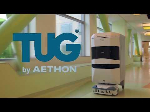 TUG, robot, logistics, hospitals
