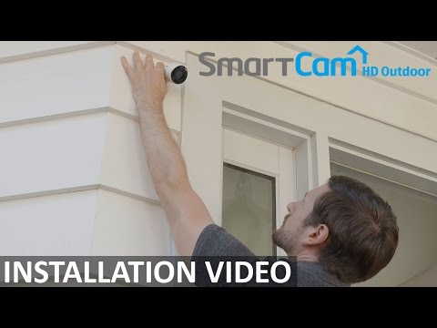 Samsung SmartCam HD Outdoor: Installation Video