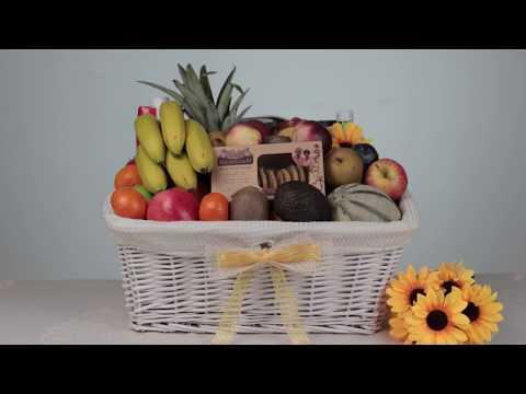 Fruit & Healthy Food Gift Baskets