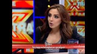 لقاء المطربة أنغام - الحلقة الثانية - The XTRA Factor 2013