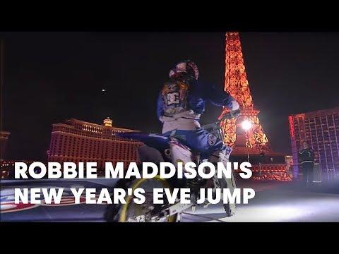 robbie maddison e il suo incredibile stunt!