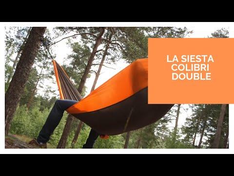 LA SIESTA Colibri - Doppel-Reisehängematte aus Fallschirmseide