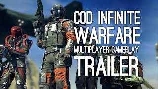 Here's Call of Duty Infinite Warfare multiplayer revealed in a multiplayer gameplay trailer, introducing a new