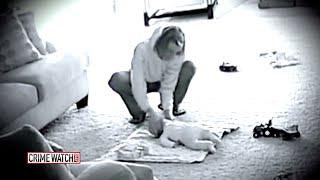 Synek powiedział, ze opiekunka zachowuje się dziwnie! Zaniepokojony tata ukrył kamerę i nagrał TO!