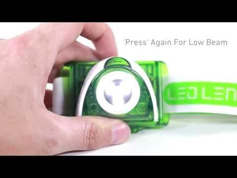 LED LENSER® SEO Headlamp Series
