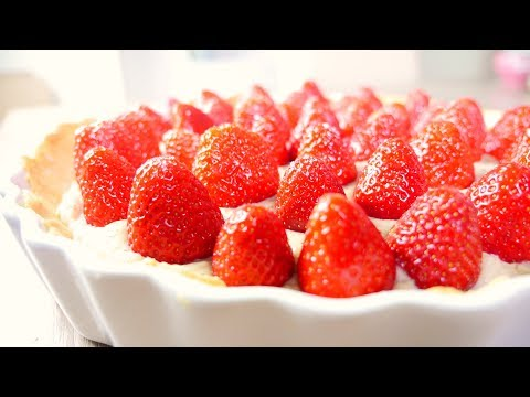 Strawberry Tart With Marzipan Cream German Recipe #41 杏仁霜草莓派