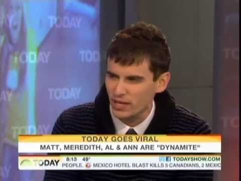 Mike Tompkins Recreates Dynamite Video with Today Show Hosts