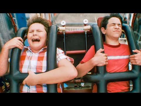 Cranium Shaker Rollercoaster Scene - DIARY OF A WIMPY KID 3: DOG DAYS (2012) Movie Clip