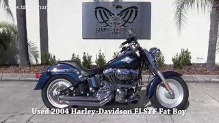 2. 2004 Harley Davidson Fat boy Motorcycle