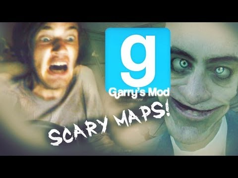 GIRLFRIEND SCARES ME WHILE PLAYING D: - Pewds and Cry Plays: Gmod: Scary Maps - Part 1