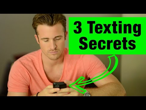 3 Texting Secrets Men Can't Resist - Matthew Hussey, Get The Guy