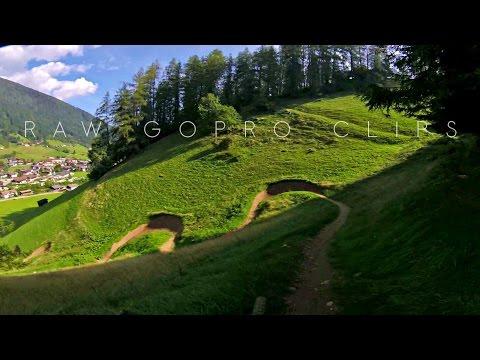 RAW gopro clips - alpine Singletrail \