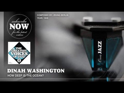 Tekst piosenki Dinah Washington - How Deep Is the Ocean po polsku