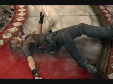 Resident Evil 4 - Leon's death