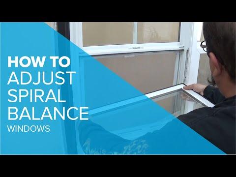 Adjusting a Spiral Balance