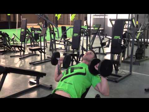 Incline Dumbbell Bench Press - 28 METHOD