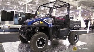 9. 2018 Polaris Ranger 570 Utility ATV - Walkaround - 2017 Toronto Snowmobile ATV Show