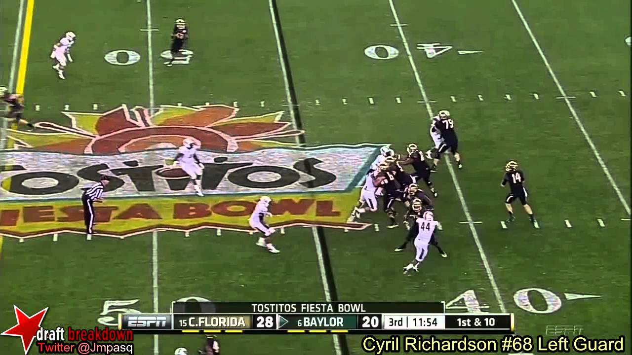 Cyril Richardson vs UCF (2013)