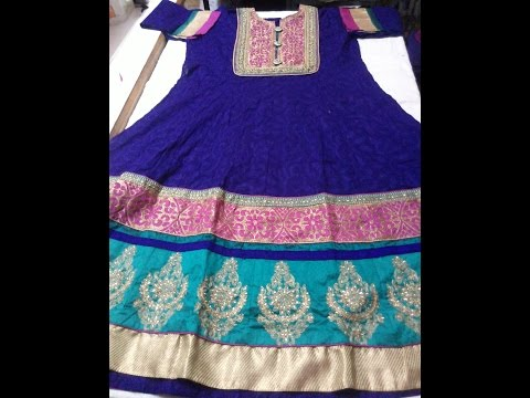 Worth  Investing money in Semi stitched anarkali suit..
