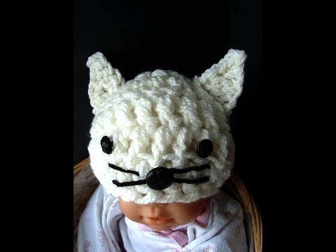 BOO CROCHET KITTY PATTERN - Crochet — Learn How to Crochet