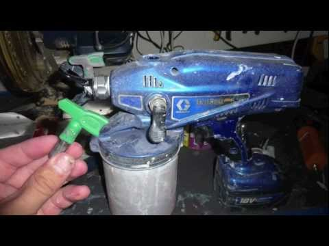 Graco Airless - How to use a Standard Graco Tip in the Minimax / truecoat pro. How to Modification. Graco 18v Cordless Airless Spray - Minimax or Truecoat Pro or also known ...