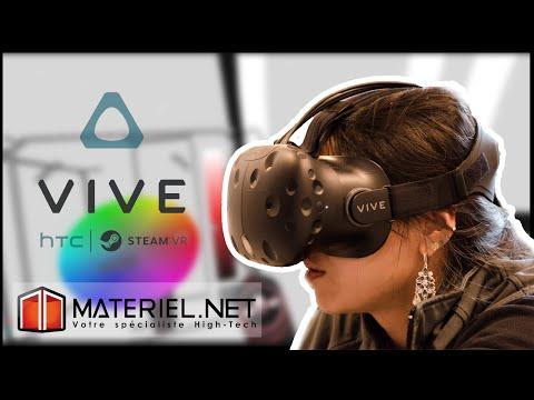 Réalité virtuelle : essai de Tilt Brush avec le HTC Vive