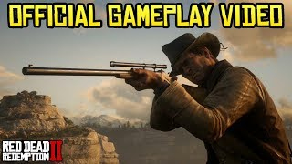Red Dead Redemption 2 OFFICIAL GAMEPLAY TRAILER #4 + REACTION (RDR 2 Gameplay PS4)