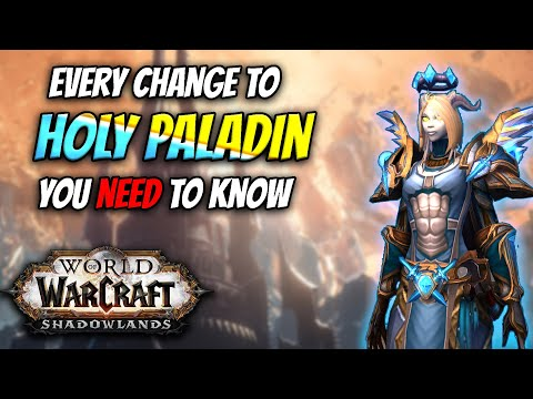 All HOLY PALADIN Changes In Shadowlands in 5 Minutes
