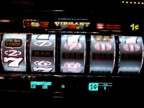 Vibrant 7s Slot Machine in Las Vegas