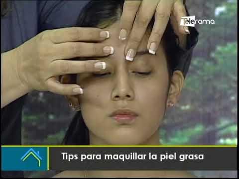 Tips para maquillar la piel grasa