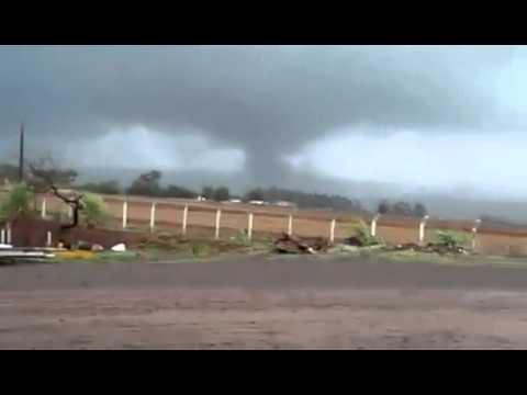 Um possível tornado foi registrado em Palmitópolis distrito de Nova Aurora