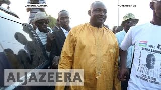 The Gambia's President-elect Adama Barrow is talking to potential ministers to form a new government. Barrow is replacing veteran president Yaya Jammeh who h...