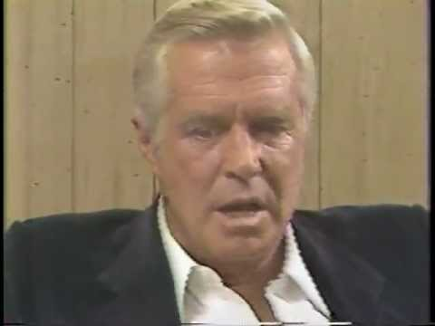 "George Peppard and the famous ""flow snurries"""