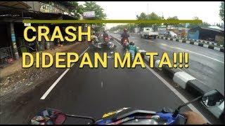 Video CRASH!!! Langsung di Depan Mata! Pas NgeVlog Pertama Kali MP3, 3GP, MP4, WEBM, AVI, FLV November 2018