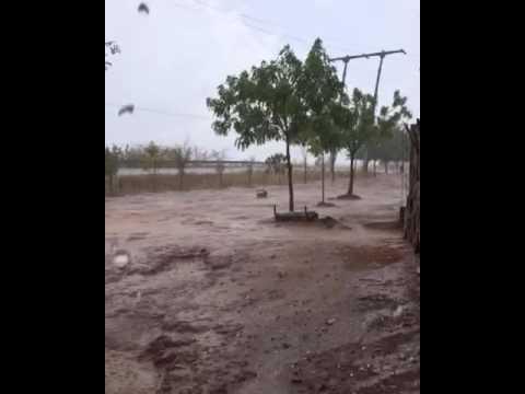 Primeiras chuvas em pires ferreira Ceará  dia 20/10/2016