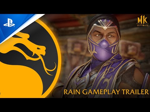 Mortal Kombat 11 Ultimate - Official Rain Gameplay Trailer | PS4, PS5