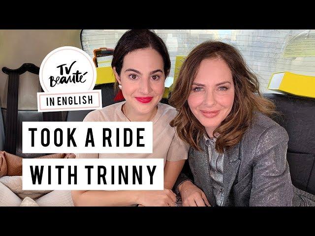 The Makeup Cab Ride With Trinny Woodall - TV Beauté | Vic Ceridono - Victoria Ceridono
