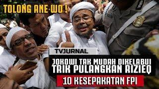Video JOKOWI Tak Mudah Dikibuli :Trik Memulangkan Habib Rizieq ! MP3, 3GP, MP4, WEBM, AVI, FLV Maret 2019