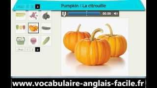 Vocabulaire Anglais Les Légumes (Vocabulaire Anglais Facile)
