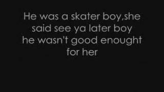 Video Avril Lavigne - Skater Boy lyrics. MP3, 3GP, MP4, WEBM, AVI, FLV Juli 2018