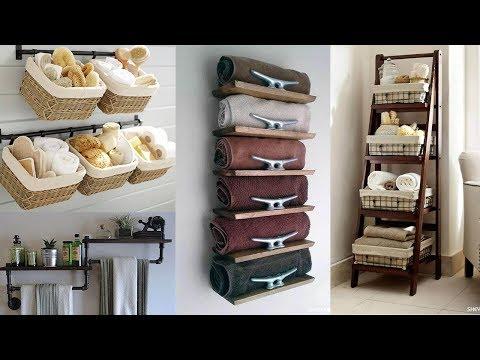 25 Small Bathroom Storage Ideas - Wall Storage Solutions