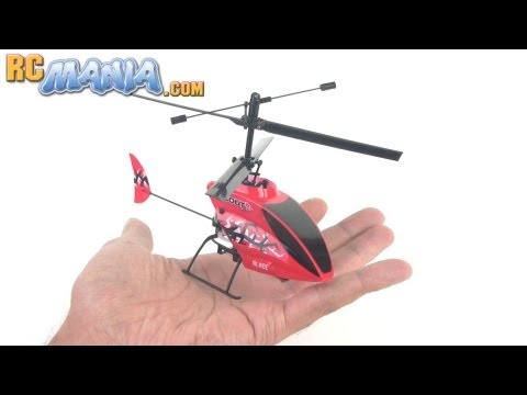 E-flite Blade Scout CX Coaxial RC Helicopter Review & Flight