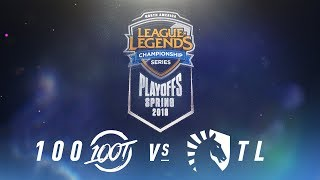 Video 100 vs. TL  | NA LCS Spring Playoffs | Finals Game 1 | 100 Thieves vs. Team Liquid (2018) MP3, 3GP, MP4, WEBM, AVI, FLV Juni 2018