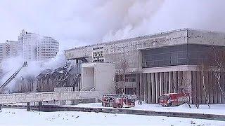 Rusya'da korkutan yangın