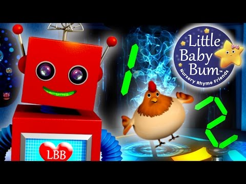 One Two Buckle My Shoe | Nursery Rhymes | By LittleBabyBum! | ABCs and 123s
