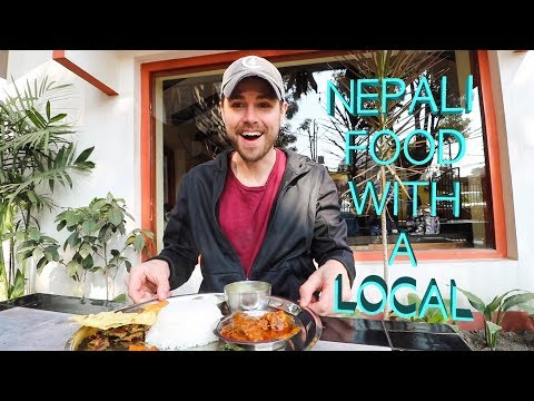 YUMMY NEPALI FOOD: A Day of Eating With My New Nepali Brother - Kathmandu, Nepal - Thời lượng: 16 phút.
