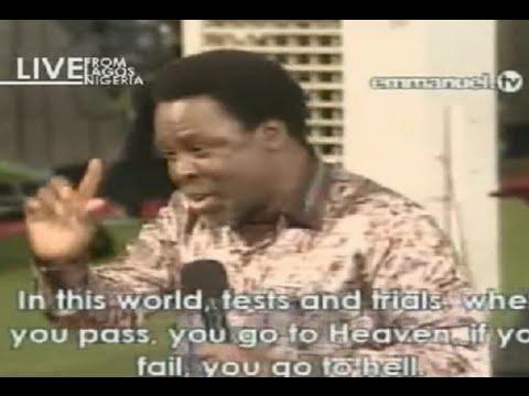 SCOAN 07/09/14: (Part 1/2) TB Joshua Message: Hindrance To Prayer. Emmanuel TV