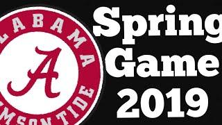 2019 Alabama Spring Game Highlights | Crimson vs White