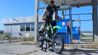1. Custom 2000 Kawasaki KX250 - First Start Up