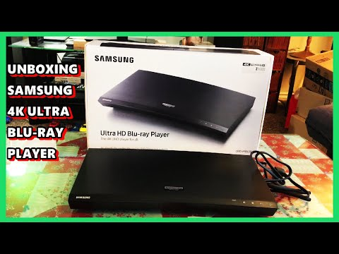 SAMSUNG 4K ULTRA HD BLU RAY PLAYER. UNBOXING, INSTALL & TEST.
